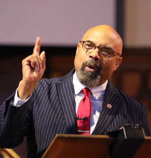 Dr Evans, Dean of Morehouse School of Religion