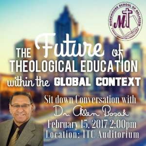 The Future of Theological Education within the Global Context @ ITC Auditorium